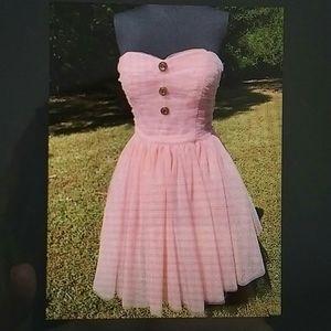 BETSEY JOHNSON - pink tulle dress